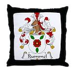 Rummel Family Crest  Throw Pillow