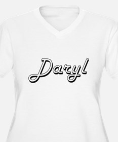 Daryl Classic Style Name Plus Size T-Shirt