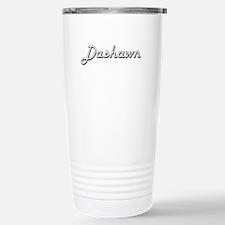 Dashawn Classic Style N Stainless Steel Travel Mug