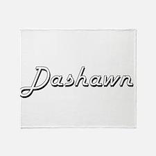 Dashawn Classic Style Name Throw Blanket