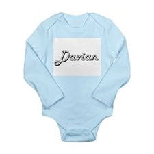 Davian Classic Style Name Body Suit