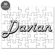 Davian Classic Style Name Puzzle