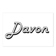 Davon Classic Style Name Postcards (Package of 8)
