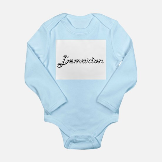 Demarion Classic Style Name Body Suit