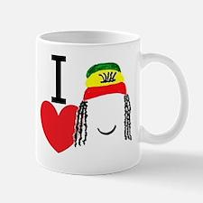 Heart Rasta Mug