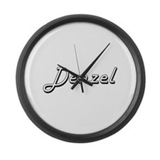 Denzel Classic Style Name Large Wall Clock