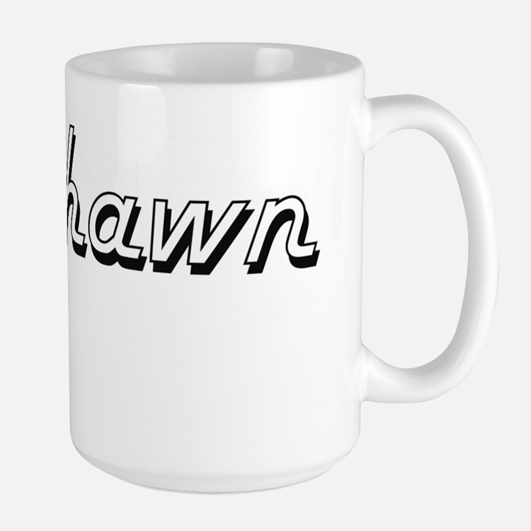 Deshawn Classic Style Name Mugs