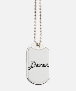 Deven Classic Style Name Dog Tags