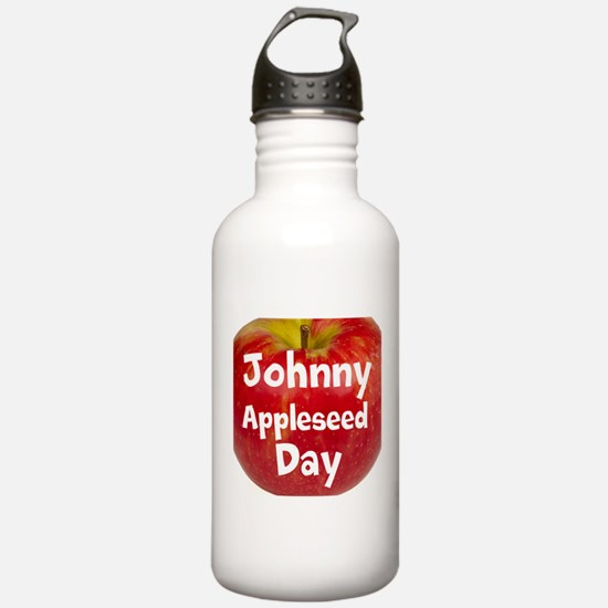Johnny Appleseed Day Water Bottle