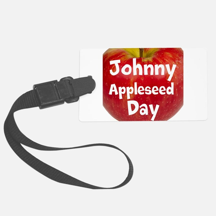 Johnny Appleseed Day Luggage Tag