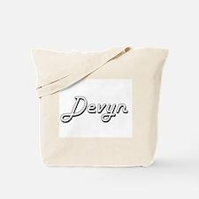 Devyn Classic Style Name Tote Bag