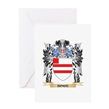 Boice Coat of Arms - Family Crest Greeting Cards
