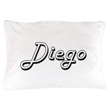 Diego Classic Style Name Pillow Case