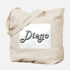 Diego Classic Style Name Tote Bag