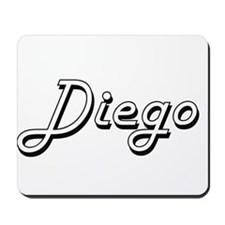 Diego Classic Style Name Mousepad
