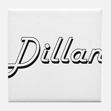 Dillan Classic Style Name Tile Coaster