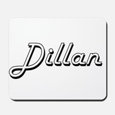 Dillan Classic Style Name Mousepad