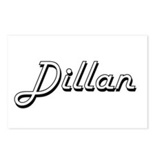Dillan Classic Style Name Postcards (Package of 8)