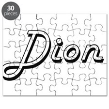 Dion Classic Style Name Puzzle