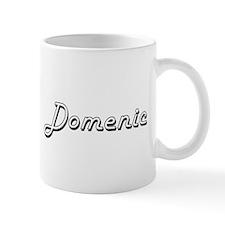 Domenic Classic Style Name Mugs