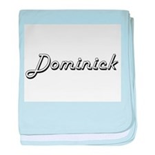 Dominick Classic Style Name baby blanket
