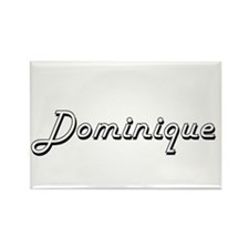 Dominique Classic Style Name Magnets