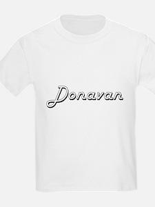 Donavan Classic Style Name T-Shirt