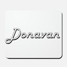 Donavan Classic Style Name Mousepad