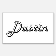 Dustin Classic Style Name Decal
