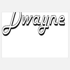 Unique Dwayne Wall Art