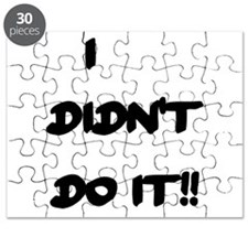 I DIDN'T DO IT Puzzle