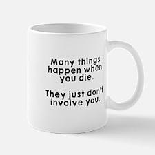 Many things happen die Mug