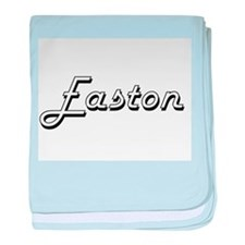 Easton Classic Style Name baby blanket