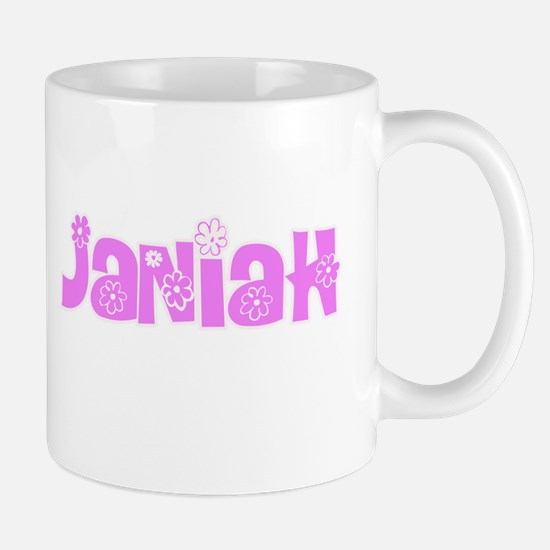 Janiah Flower Design Mugs