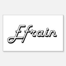 Efrain Classic Style Name Decal