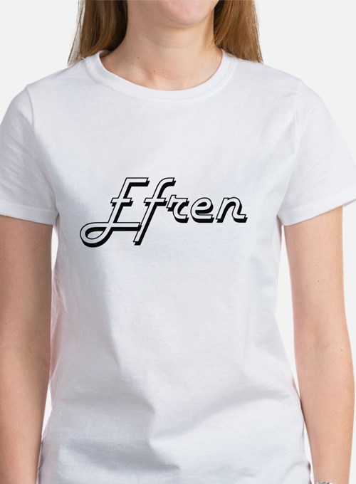 Efren Classic Style Name T-Shirt