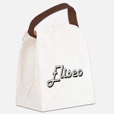 Eliseo Classic Style Name Canvas Lunch Bag