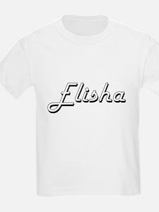 Elisha Classic Style Name T-Shirt