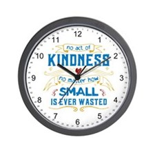 Act of Kindness Wall Clock