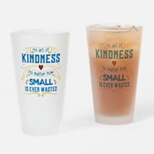 Act of Kindness Drinking Glass
