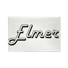 Elmer Classic Style Name Magnets