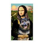 Mona's G-Shepherd Sticker (Rectangle)