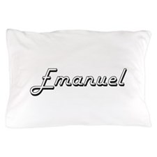 Emanuel Classic Style Name Pillow Case