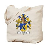 Reutter Family Crest  Tote Bag