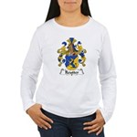 Reutter Family Crest  Women's Long Sleeve T-Shirt