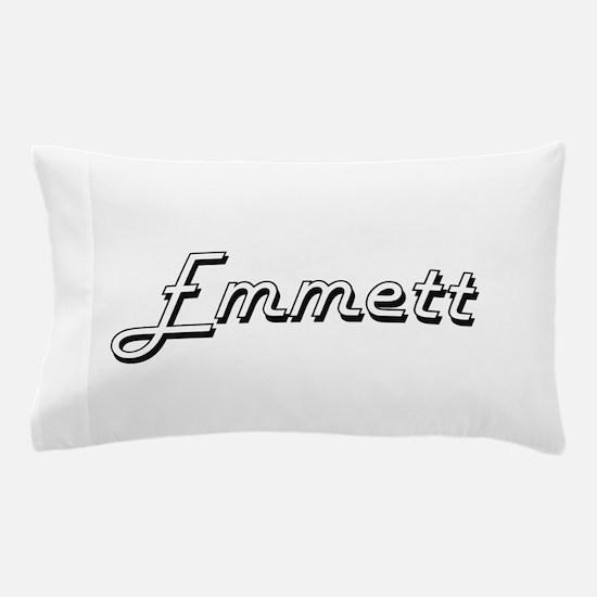 Emmett Classic Style Name Pillow Case