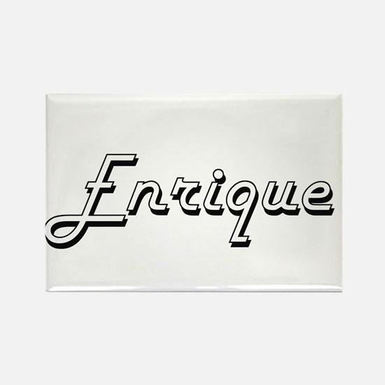 Enrique Classic Style Name Magnets