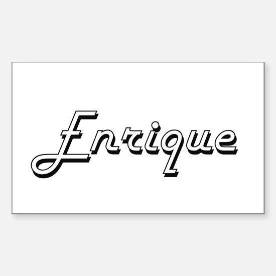 Enrique Classic Style Name Decal