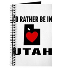Id Rather Be In Utah Journal