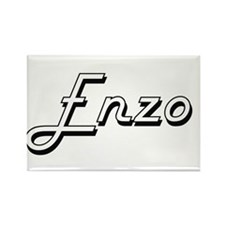 Enzo Classic Style Name Magnets